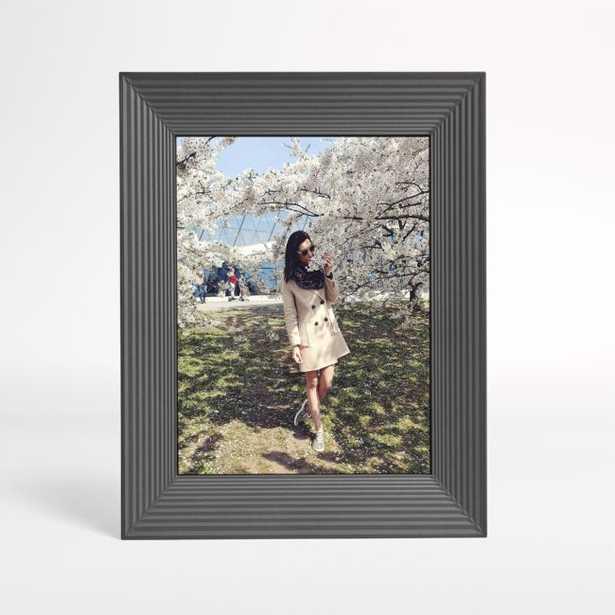 Aura Mason Black Digital Photo Frame - Crate and Barrel