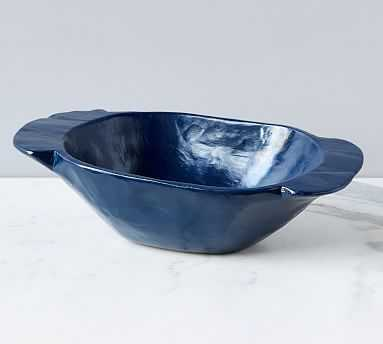 Navy Dough Bowl - Pottery Barn