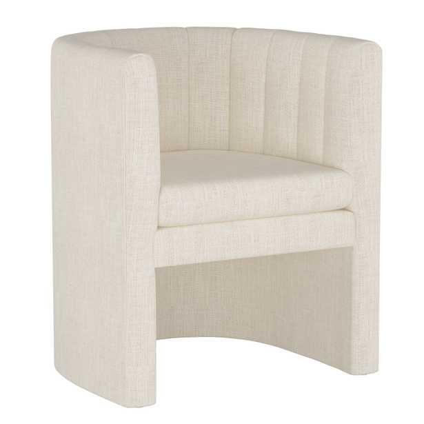 Wellshire Chair, Talc Linen - Studio Marcette