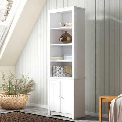 "Fokos 80"" H x 26.25"" W Standard Bookcase - Wayfair"