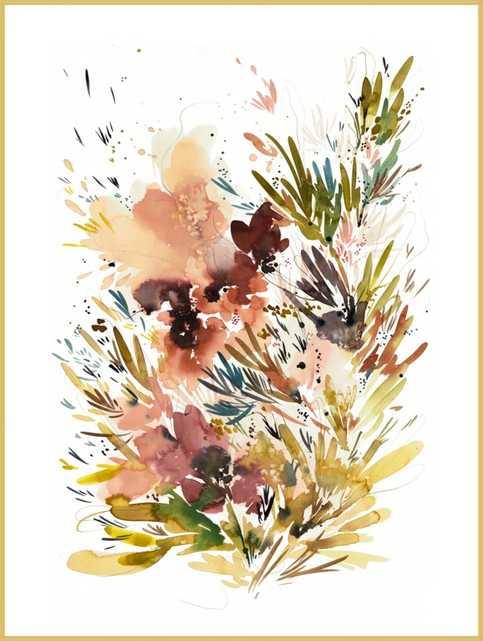 Autumn Garden No.3 by Kelly Ventura for Artfully Walls - Artfully Walls