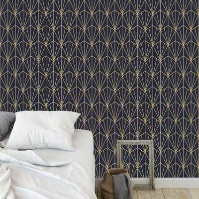 """Priya 48"""" L x 24"""" W Peel and Stick Wallpaper Panel - Birch Lane"""