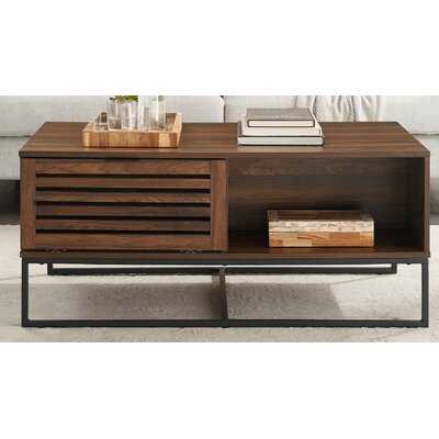 Nena Coffee Table with Storage - Wayfair