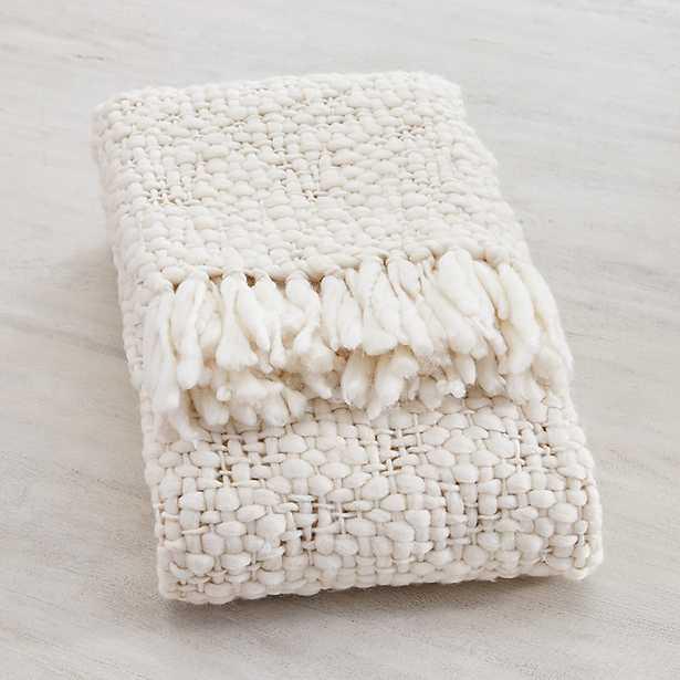 Moab Chunky Knit Throw   - Ballard Designs - Ballard Designs