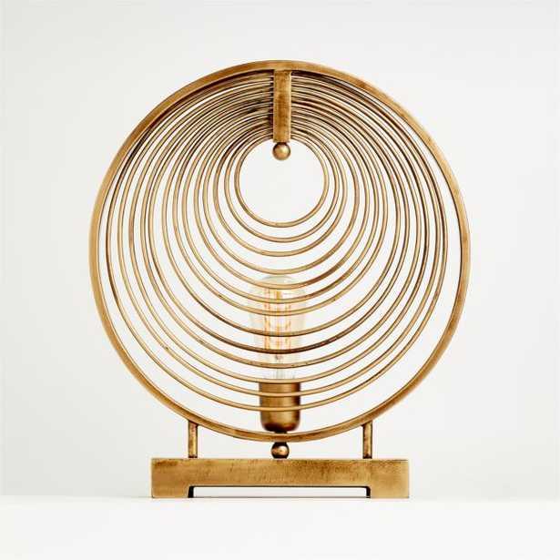 Rowan Circle Table Lamp - Crate and Barrel