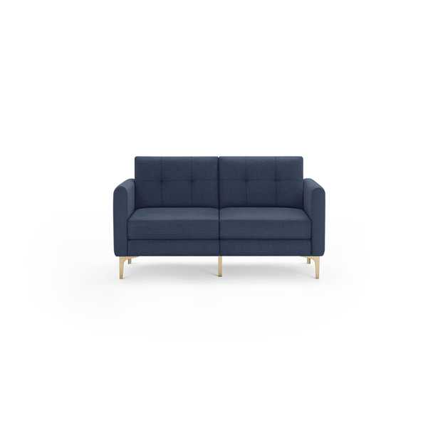 The Arch Nomad Loveseat in Navy Blue - Burrow