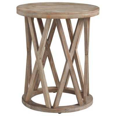 Solid Wood Frame End Table - Wayfair