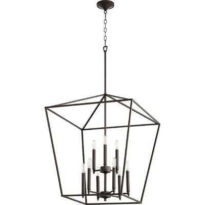 Arletta 9 - Light Lantern Chandelier - Wayfair