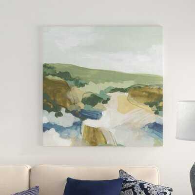 'Plein Air Primitive I' Wrapped Canvas Painting on Canvas - Wayfair