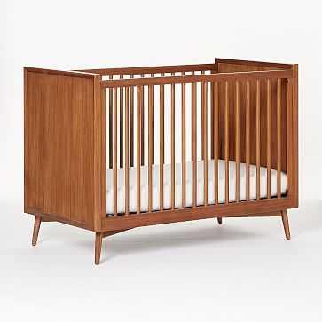 Mid-Century Convertible Crib, Acorn, WE Kids - West Elm