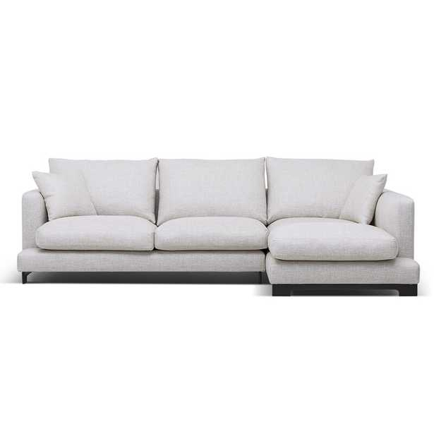 Camerich Lazy Time Sectional Fabric: White, Orientation: Right Hand Facing - Perigold