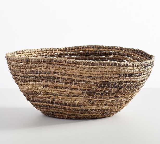 Wynne Coil Abaca Bowl - Pottery Barn
