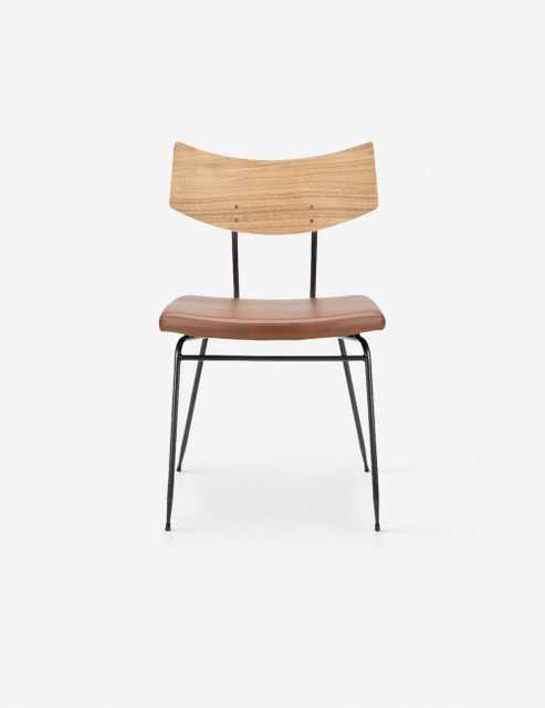 Kamilyn Dining Chair, Caramel and Natural - Lulu and Georgia