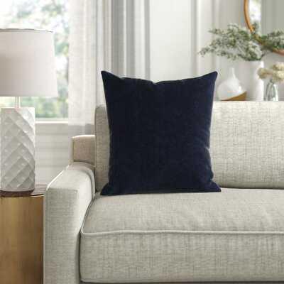 Armina Square Velvet Pillow Cover & Insert - Wayfair