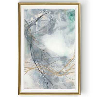 Undulating Oro II' - Painting Print on Canvas - Wayfair