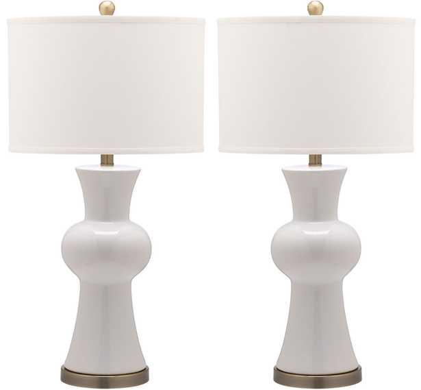 Lola Column Lamp, Set of 2 - Arlo Home