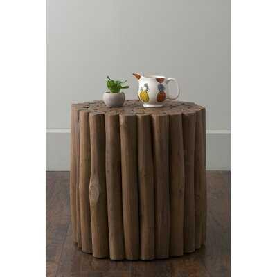 Naya Solid Wood End Table - Wayfair