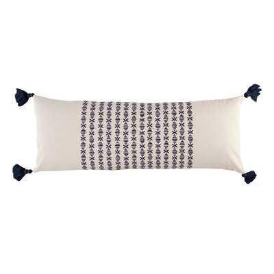 Layla Cotton Lumbar Pillow - AllModern