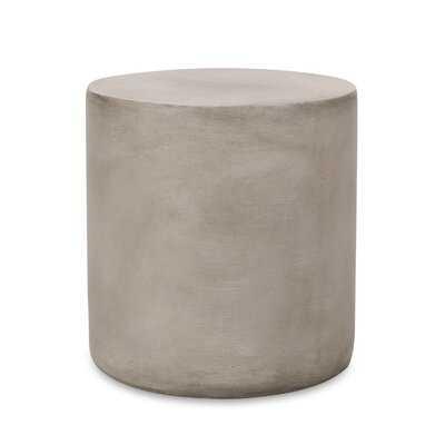 Margot Concrete Side Table - Wayfair