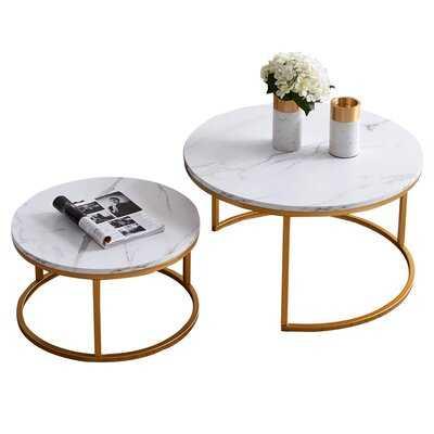 Saroyan 2 Piece Coffee Table Set - Wayfair