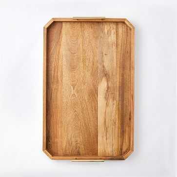 "Deco Handle Large Tray, 18""x28"" - West Elm"