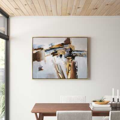 Concurrent - Picture Frame Print on Canvas - AllModern