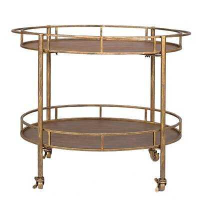 Cumberland Bar Cart - AllModern