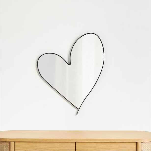 Heart Wall Mirror - Crate and Barrel