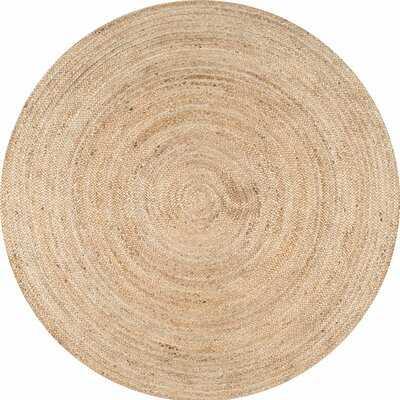 Handmade Flatweave Jute/Sisal Tan Area Rug - Wayfair