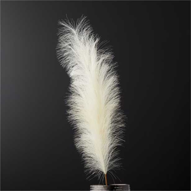 Faux Pampas Grass Ivory Stem - CB2