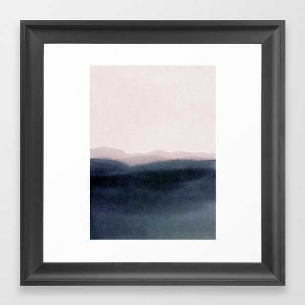 Dusk Scenery Framed Art Print by Iris Lehnhardt - Scoop Black - X-Small-12x12 - Society6