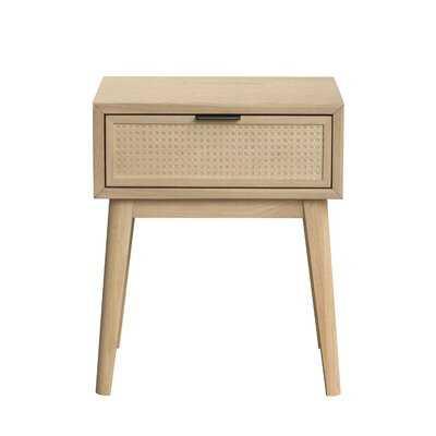1 - Drawer Nightstand in Brown - Wayfair