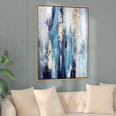 'Dinorah' - Floater Frame Print on Canvas - Wayfair