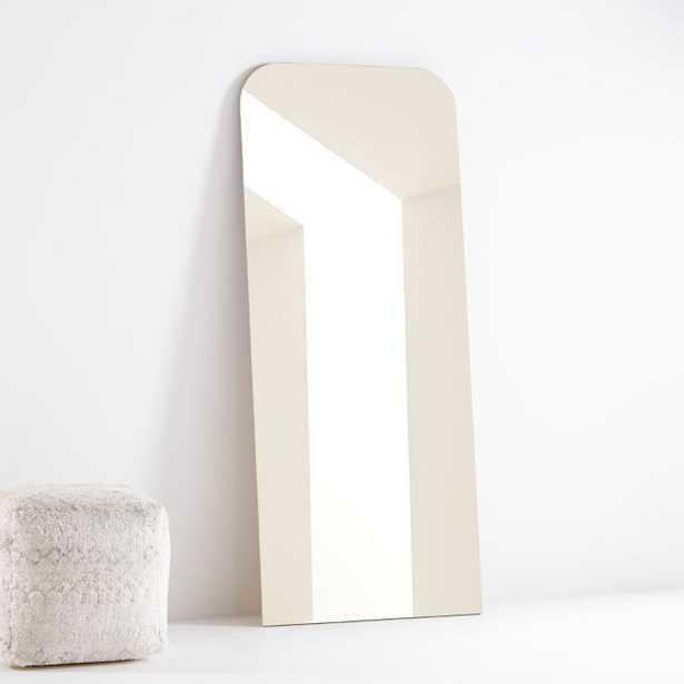 Edge Oak Arch Floor Mirror - Crate and Barrel