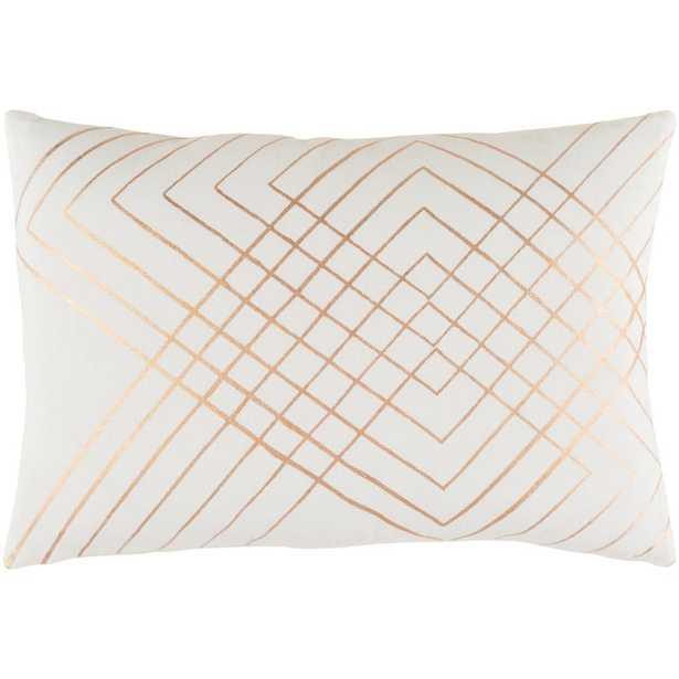 Eversholt Poly Standard Pillow, Ivory - Home Depot