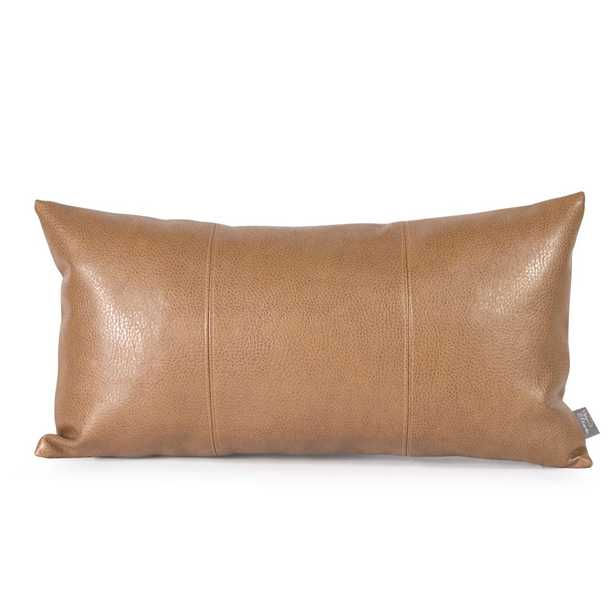 Avanti Brown Kidney Decorative Pillow, Browns/Tans - Home Depot