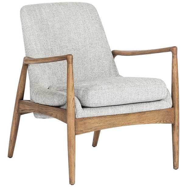 Braden Mid-Century Manor Gray Nettlewood Chair - Style # 97M66 - Lamps Plus