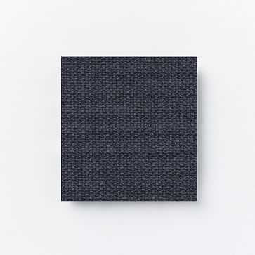 Upholstery Fabric By The Yard, Chunky Basketweave, Aegean Blue - West Elm