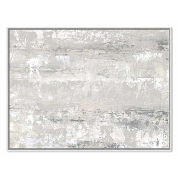 """Casa Fine Arts 'Desert Winds' Floater Frame Painting Print on Canvas Size: 30"""" H x 40"""" W x 2"""" D - Perigold"""
