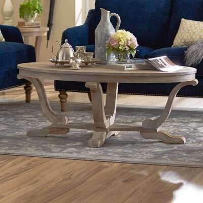 Balisier Trestle Coffee Table - Birch Lane