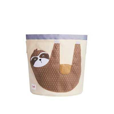 Sloth Storage Fabric Bin - Wayfair