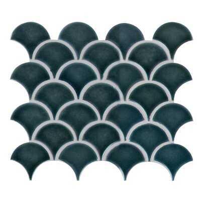"Domino 3"" x 4"" Mesh Random Porcelain Mosaic Tile - Birch Lane"