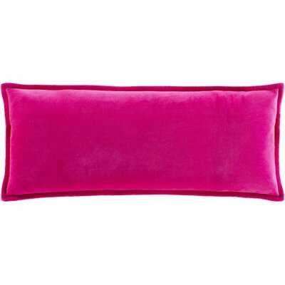 Ahnaya Cotton Lumbar Pillow Cover - Wayfair