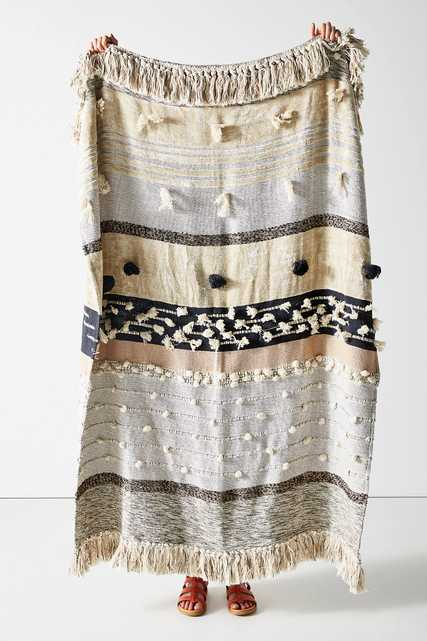 All Roads Yucca Throw Blanket - Anthropologie