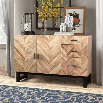 Springdale Solid Wood Sideboard Dining Table - Birch Lane