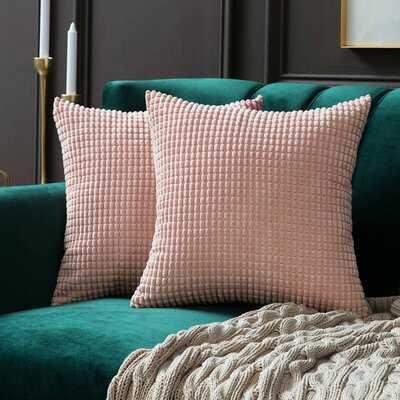 Miltonvale Square Pillow Cover - Wayfair