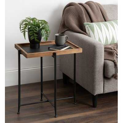 Bruning Cross Legs Tray Table - Wayfair