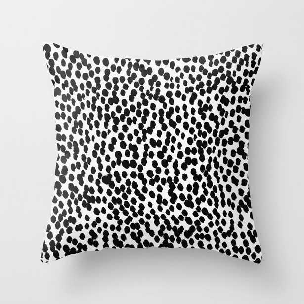 """Dots 11 Couch Throw Pillow by Georgiana Paraschiv - Cover (24"""" x 24"""") with pillow insert - Indoor Pillow - Society6"""