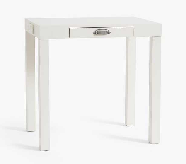 Parsons Mini Smart Desk, Simply White, In-Home Delivery - Pottery Barn Kids