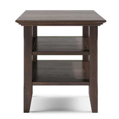 Seo Solid Wood 4 Legs End Table with Storage - Wayfair